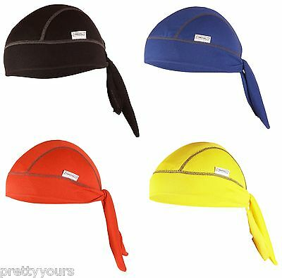 NEW mens womens cycling headband windproof bandeau liner unisex cap One Size