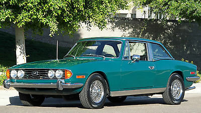 Triumph : Other STAG CONVERTIBLE 1973 triumph stag convertible both tops rust free rebuilt v 8 40 k miles must see