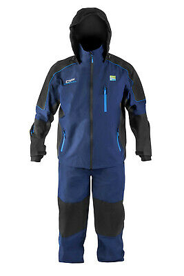 Preston Innovations DF15 Suit Jacket & Bib & Brace Waterproof & Breathable New