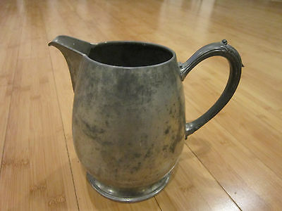 VINTAGE PEWTER PITCHER by NEW AMSTERDAM SILVER CO