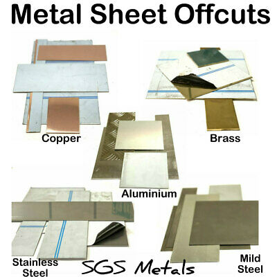 1 Kg Sheet Metal Offcuts - Be quick we sell out of our eBay bargains fast