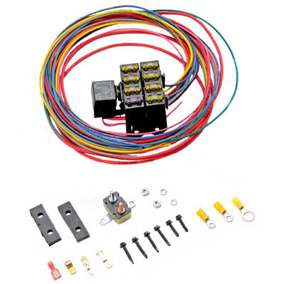 Painless Performance Products 70107 CirKit Boss Auxiliary Fuse Block Kit