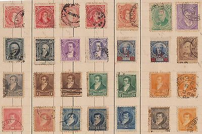(LD65) 1882-1902 Argentina mix of 28 mixed condition