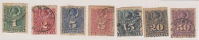 (LD81) 1867-78 Chile mix of14 1cto50c mixed condition
