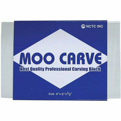 MOO Carve block for printing (linocut) or stamp making - 4in x 6in