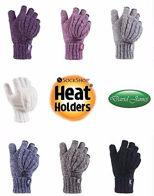 Ladies Converter Heat Holder Heatweaver Thermal Warm Mitt GLOVES TOG 2.3
