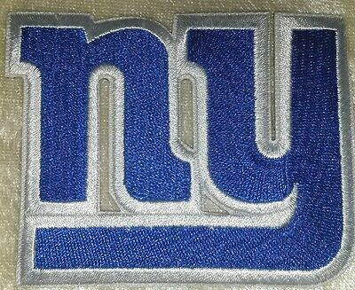 """New York Giants NFL NY 3."""" Iron On Embroidered Patch ~USA Seller~FREE Ship!!"""