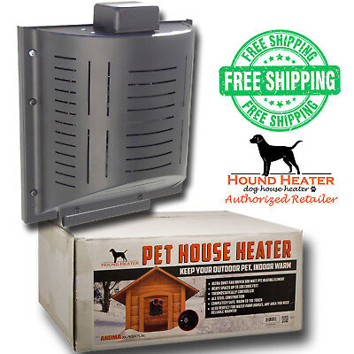 Akoma Hound Heater Dog House Furnace Deluxe Cord Protector SAME DAY SHIP M-F