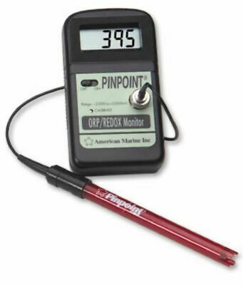 American Marine Pinpoint Orp Monitor Includes Probe & Calibration Fluids