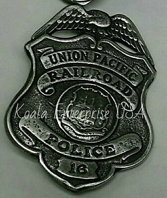 Western  Badges Old West Replica Union Pacific Police