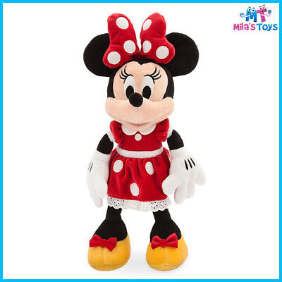 """Disney Red Minnie Mouse 14"""" Plush Doll Soft Toy brand new with tags"""