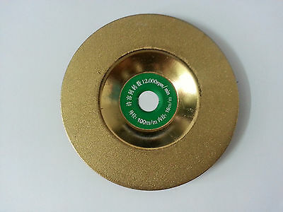 """4""""Diamond Coated Grinding Wheel Disc For Angle Grinder 100mm"""