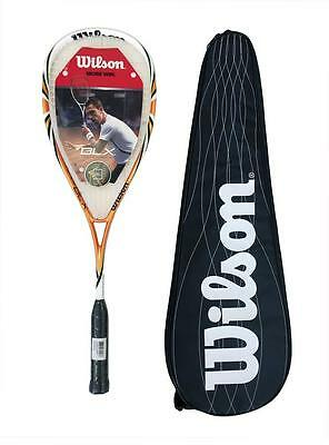 Wilson Fierce BLX Squash Racket with Carry Case RRP £170