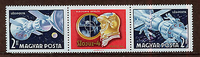 HUNGRIA/HUNGARY 1969 MNH SC.C285/286a First team flights of Soyuz 4 and 5