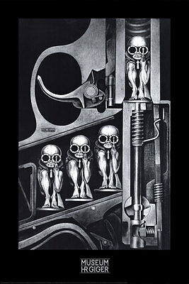 Birth Machine Poster Print by H. R. Giger, 24x36