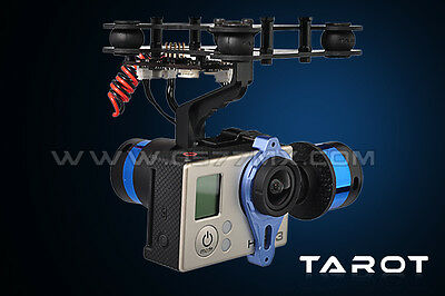 Tarot T-2D Gopro Brushless Gimbal with Gyro TL68A00 Camera Mount Free Shipping