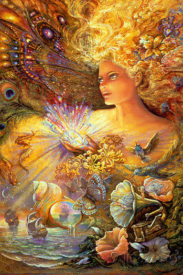 Crystal Of Enchantment Poster Print by Josephine Wall, 24x36