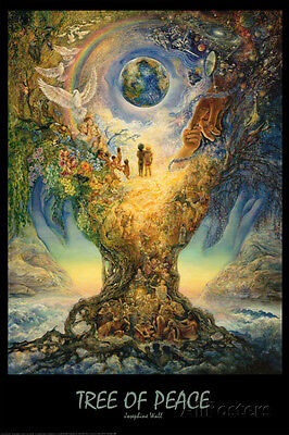 Tree Of Peace Poster Print by Josephine Wall, 24x36