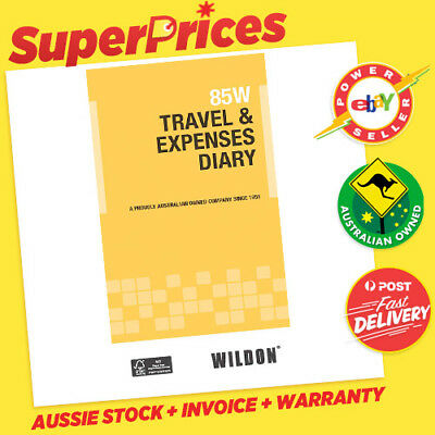 Wildon◉85W◉Pocket Size Travel & Expenses Diary◉Ato Tax Compliant◉Car◉Bus◉Truck◉