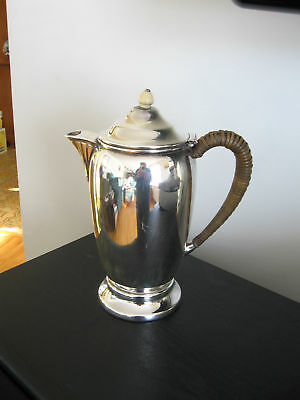 Vintage Birks Silverplate Tea Hot Water Jug Pitcher 1151