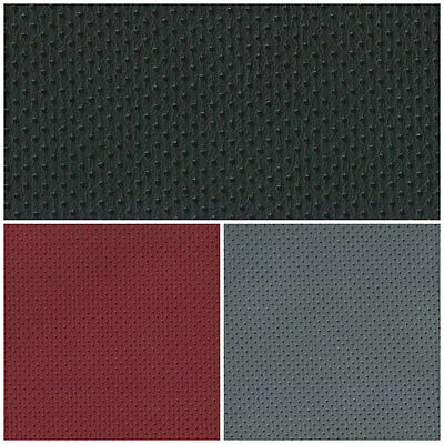 SEMI PERFORATED LEATHERETTE  FAUX LEATHER FABRIC LEATHER MATERIAL 140cm WIDE