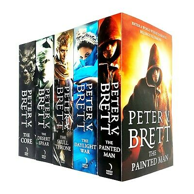 The Demon Cycle Series Peter V. Brett Collection 5 Books Set Daylight War, Spear