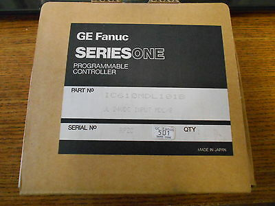 NEW GE FANUC PROGRAMMABLE CONTROLLER INPUT IC610MDL101B