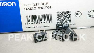 4pcs OMRON D2F-01F Micro Switch Microswitch SPDT Subminiature Kinzu MX Logitech