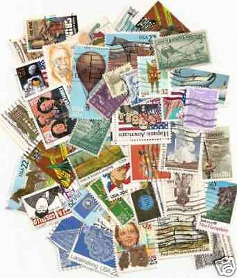 50,000 Used US stamps in lots of 400 off paper