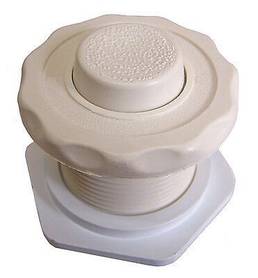Air Button - Biscuit with Raised Button  (Helps Prevent Finger Nail Breakage)