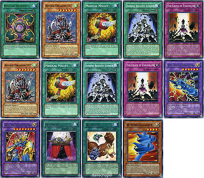 Yu-Gi-Oh 3x Catnipped Kitty Mixed Sets Mixed