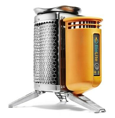 BioLite Campstove Energy Smokeless Internal Fan & USB Charge Outlet