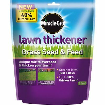 Scotts Miracle-Gro Lawn Thickener Grass Seed 20sqm rrp £13.46