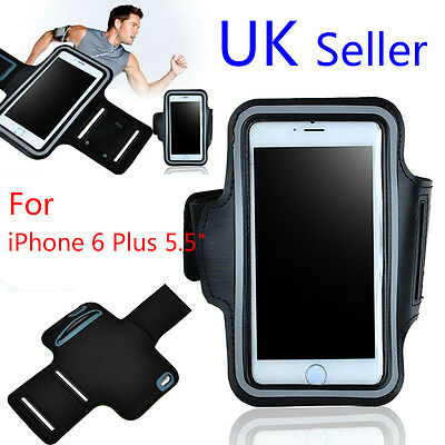 """Adjustable Armband For iPhone 6 plus (5.5"""") GYM Running Sports Case Cover Holder"""
