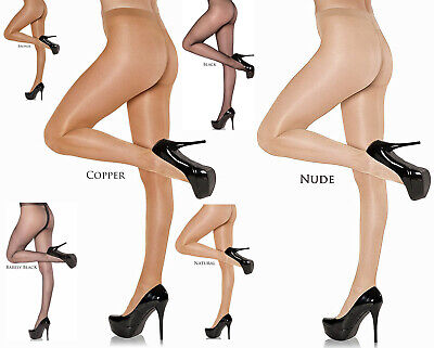 3 pairs NYLONZ Gloss Sheer to Waist Tights / Pantyhose - 5 Colours / S, M, L, XL