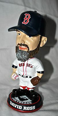 Boston Red Sox David Ross #3 Bobble head GET BEARDED Limited Edition Worldries