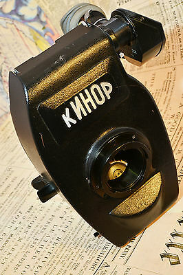 RARE KINOR 16CX-2M 16mm film movie camera BODY Made in USSR N811582