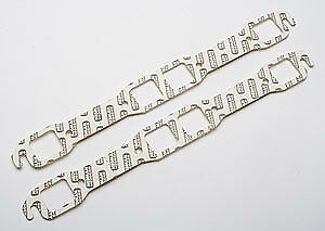 Hedman 27900 Header Gaskets Big Block Mopar 361-440