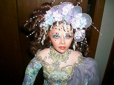 """Arielle Doll By Rustie With Original Box and COA 27"""" Exotic Beautiful Details"""