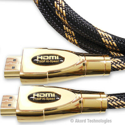 10 Metre NEW V2.0 PREMIUM HDMI Cable HD High Speed 4K UltraHD 2160p 3D Lead 10m