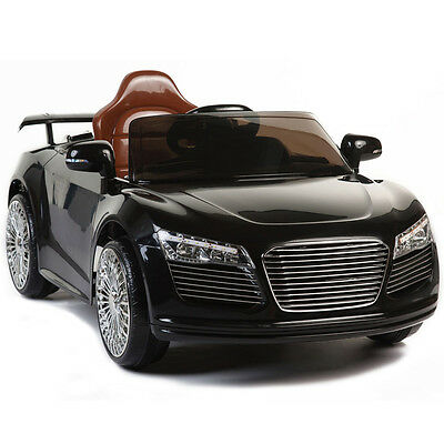 Audi R8 Style 12V Kids Ride On Car Battery Powered Wheels Remote Control RC