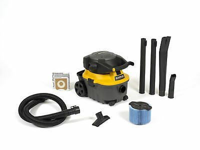 WORKSHOP Wet Dry Vacs WS0400DE 4-Gallon 6.0 Peak HP Portable Blower Vacuum