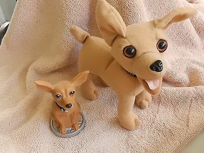 Taco Bell Dog Magic 8 Ball Style Fortune Telling Fast Food Toy 2000+FREE PLUSH