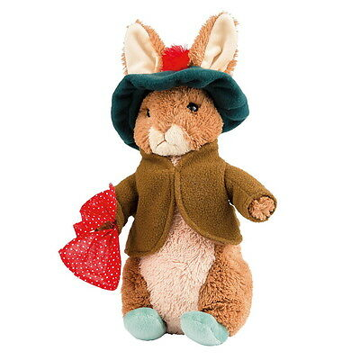 "NEW OFFICIAL GUND Beatrix Potter Benjamin Bunny Large 12"" Plush Soft Toy A26419"