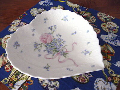 "Mikasa Bone China ""Always and Forever"" Gift Boxed Heart Dish, NIB 6 available"