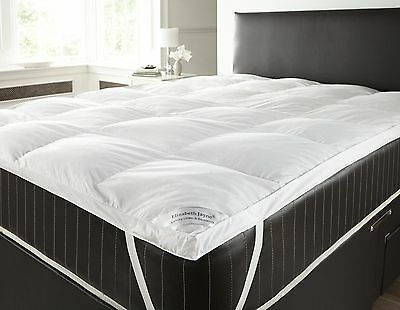 Goose And Down Feather Mattress Topper Single Double King Super King Pillow Pair