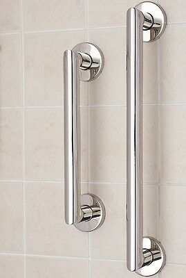 Stainless Steel Disability Grab Rail Support Handle Bar Bathroom Safety Aid