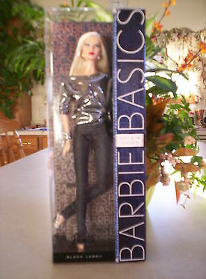2010 BARBIE BASICS NO. 14 COLLECTION 2.1 MODEL MUSE ARTICULATED METALLIC NRFB