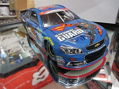DALE EARNHARDT JR 2014 SUPERMAN/ NATIONAL GUARD SPECIAL 1/24 ACTION DIECAST
