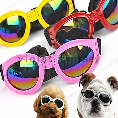 Pet Accesories  Pet Supplies Dog Supplies Dog Sunglasses UV Protection Eye